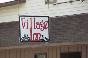 Village Inn sign