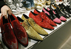 Elton John's Shoes. Source: http://www.adelaidenow.com.au/entertainment/elton-john-sells-his-clothes-for-charity-event/story-e6fredpu-1225809634244